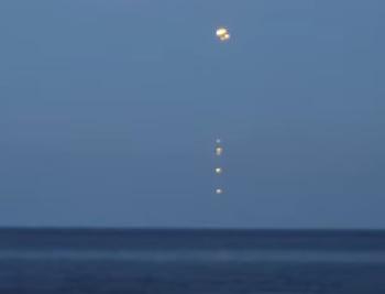 ufo baltic sea poland
