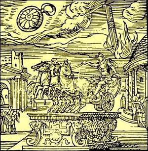Gli Ufo nell' antica Roma